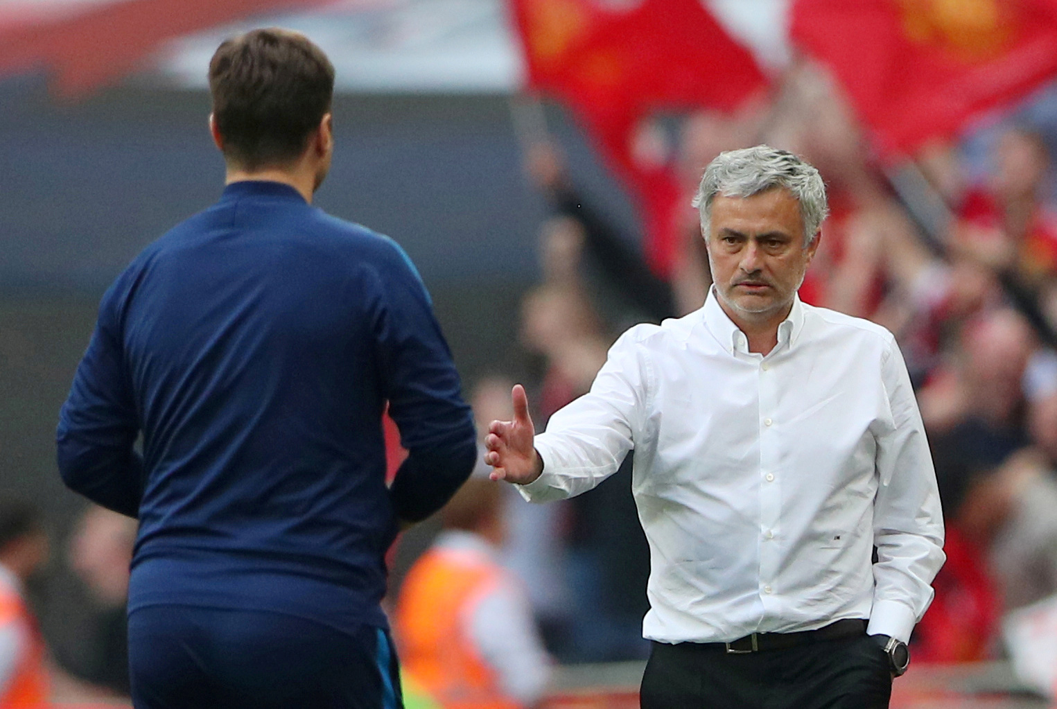 What does Ole think of Jose at Spurs?