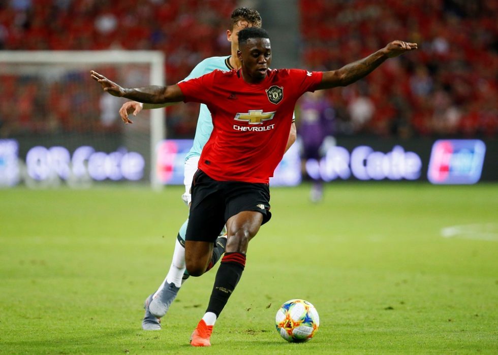 Aaron Wan-Bissaka Named The Best Defender In England