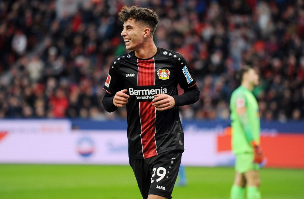 Man United intent on Leverkusen's Kai Havertz in January transfer window