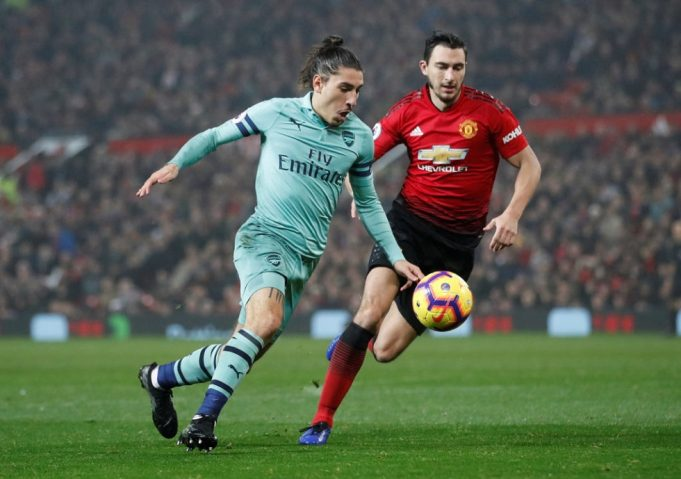 Manchester United vs Arsenal Head To Head Results & Records (H2H)