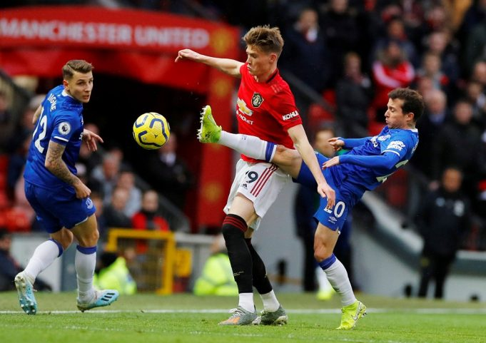 Manchester United vs Everton Head To Head Results & Records (H2H)