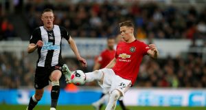 Manchester United vs Newcastle head to head