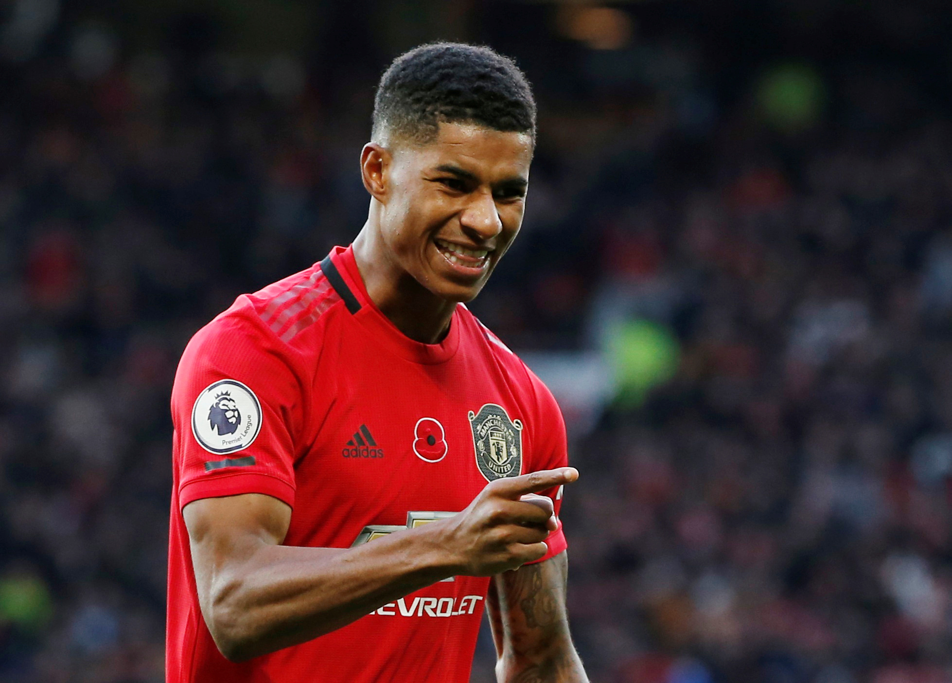 Marcus Rashford wins Manchester United Player of the Month award