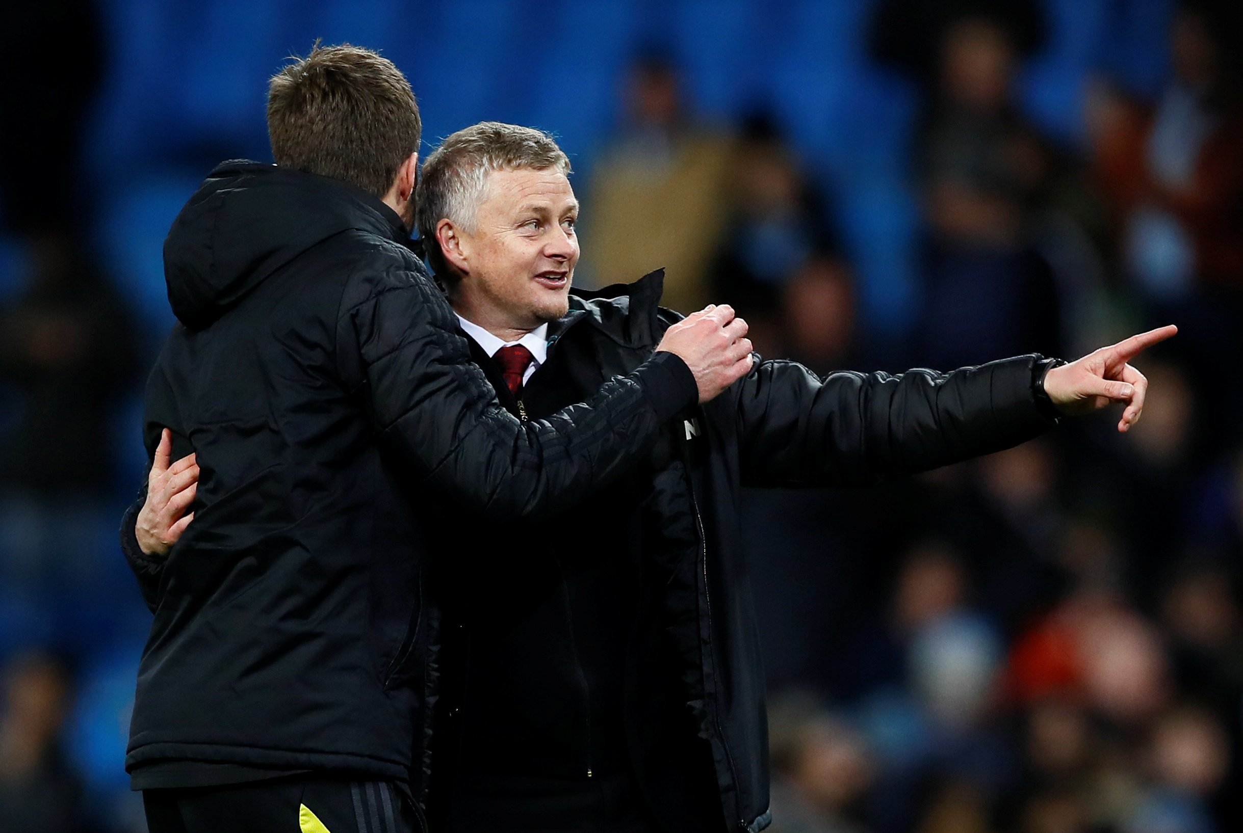 Ole doesn't doubt his abilities at Man United