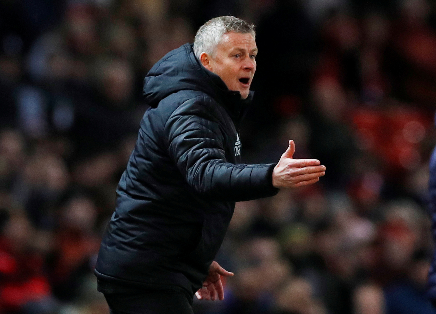 Ole relays his fear to Manchester United players about getting sacked