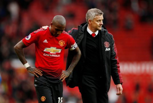 Ashley Young set to complete Inter Milan move from Manchester United