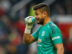 Manchester United goalkeeper Sergio Romero involved in a car crash