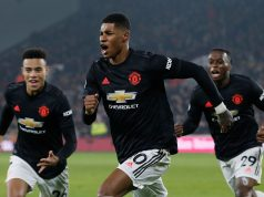 Manchester United's Marcus Rashford could be available for the Liverpool derby