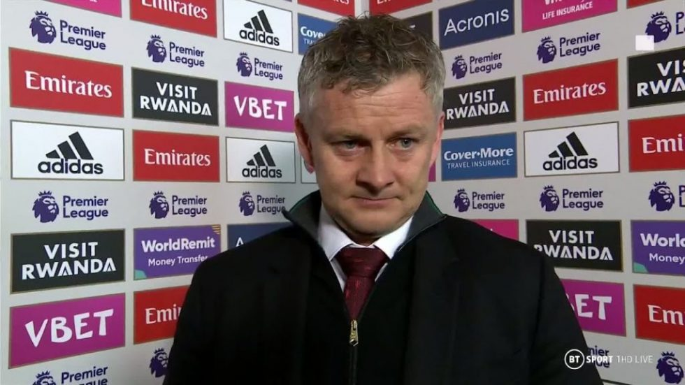 Ole hails as the biggest club in the world.