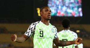 Ighalo reveals taking less pay just to join Manchester United