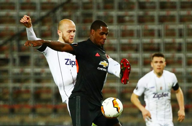 Man United battle to keep Odion Ighalo in team