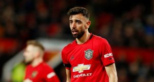 Bruno Fernandes colored with highest form of midfield recognition at United