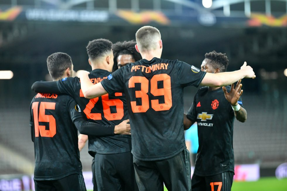 Manchester United Players Shirt Numbers 2021
