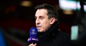 Gary Neville believes United's front three will only get better