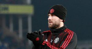 Luke Shaw is hopeful for Manchester United