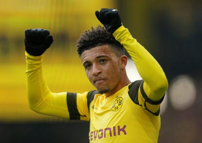 Borussia Dortmund accept £60m for Jadon Sancho