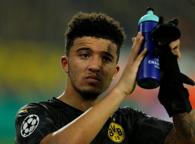 Borussia Dortmund release Jadon Sancho statement after he was spotted in UK