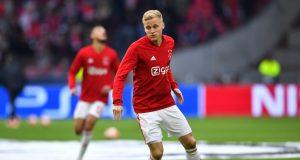 Donny van de Beek sent warning ahead of Manchester United debut