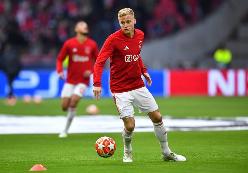 Donny Van De Beek S Heartwarming Man United Shirt Number Choice Explained