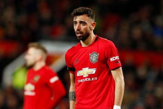 Bruno Fernandes speaks out on Ole Gunnar Solskjaer row
