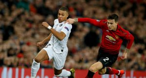 Kylian Mbappe sends message to Manchester United