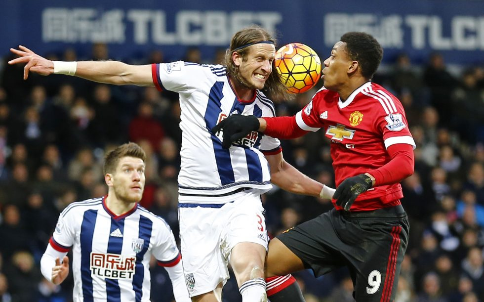 Manchester United vs West Brom Head To Head Results ...