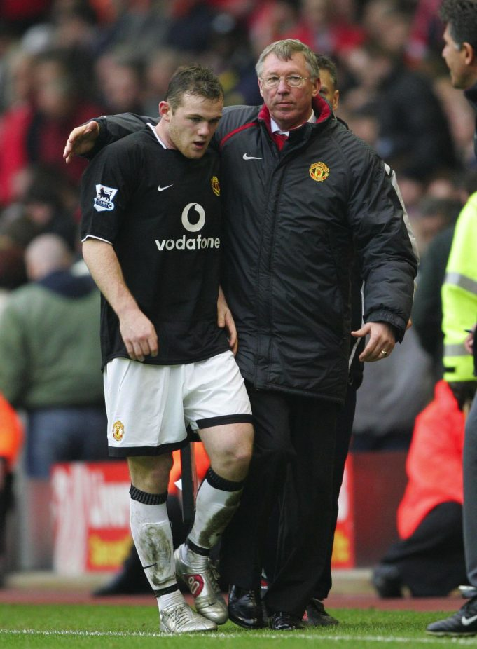 Rooney won't imitate his former boss Sir Alex Ferguson