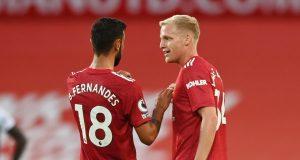 Bruno Fernandes dismisses Donny van de Beek myth at Man United