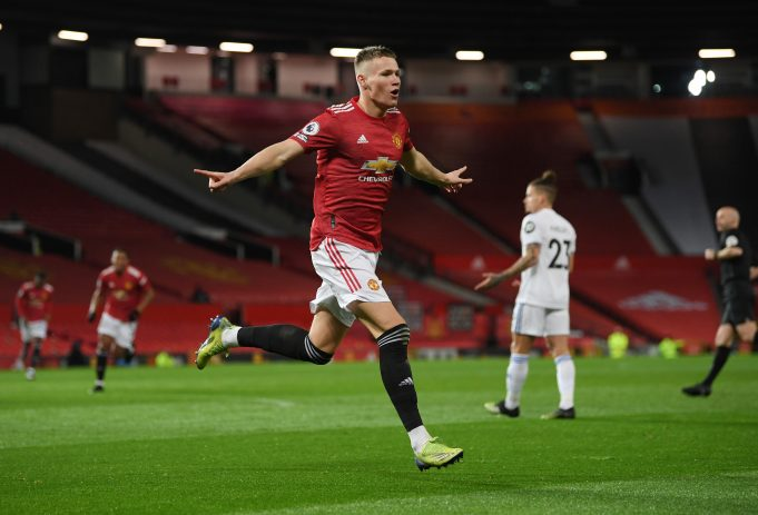OGS lauds Scott McTominay for his sensational performance against Leeds