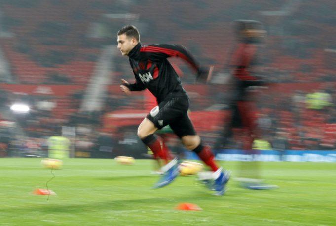 Diogo Dalot send message over Man United future