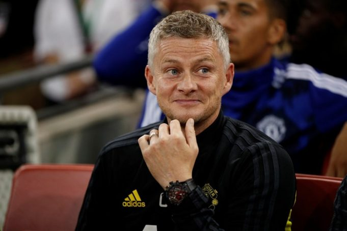 OGS defends Manchester United's tactics