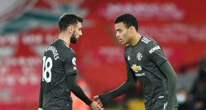 Bruno Fernandes asks fans to be patient with Mason Greenwood