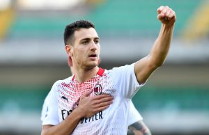 Diogo Dalot wants to extend his stay at AC Milan