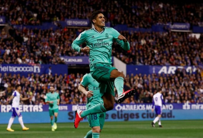 Club legend Patrice Evra delighted with Raphael Varane signing