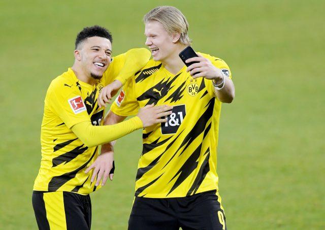 Erling Haaland finally breaks silence on Jadon Sancho transfer