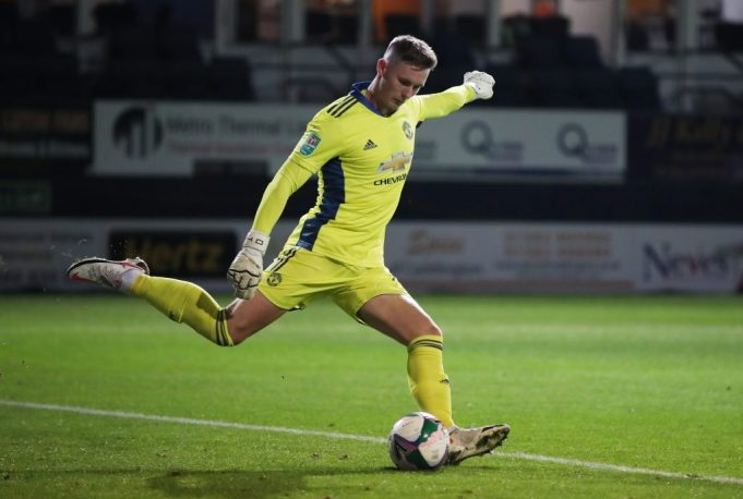 United goalkeeper Dean Henderson will be back at his best form